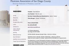 San Diego Musician's Union